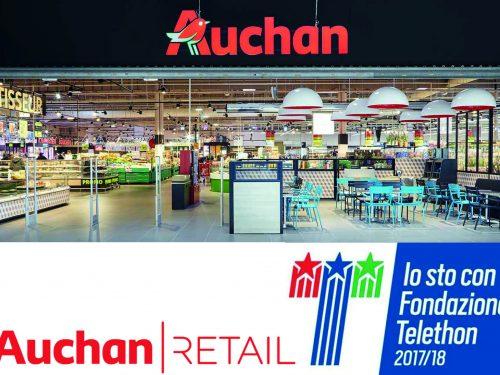 Auchan Retail Italia con Fondazione Telethon per cambiare la vita di tanti bambini