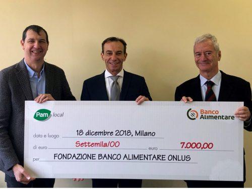 100 mila pasti da Pam Local per Banco Alimentare