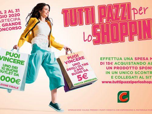 """""""Tutti pazzi per lo shopping"""", CRAI lancia il nuovo concorso drugstore"""