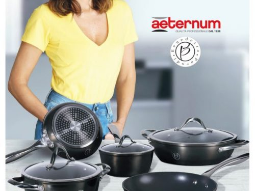 "SISA promette ""Emozioni in cucina"" con la linea Elegantia by Aeternum"