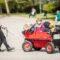 """Unigrà """"mette le ruote"""" a un nuovo walking wagon per la scuola itinerante Kw Baby di Bologna"""